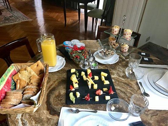 Viggiu, Italy: Breakfast