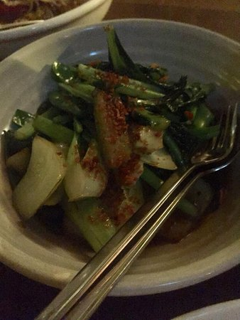 Longrain: Asian Greens in Oyster Sauce