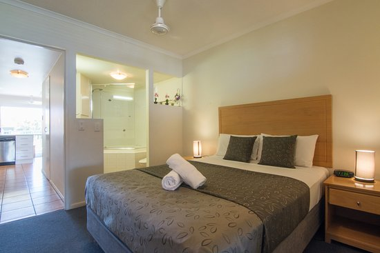 Coolum Beach, أستراليا: One bedroom & ensuite