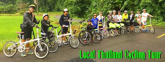 Hat Yai, Thailand: Local Thailand Cycling Tour with vinndaGO
