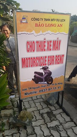 Motorbike For Rent Bao Long