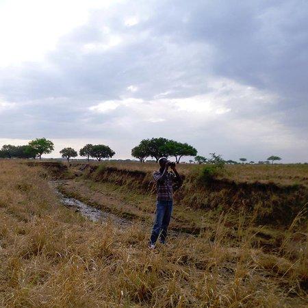 Kitgum, ยูกันดา: One of Kidepo valley national park seasonal rivers during the dry season