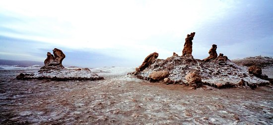 Salar de Atacama: This shot was taken during our visit to the salt flats of Chile along the Andes mountain range.