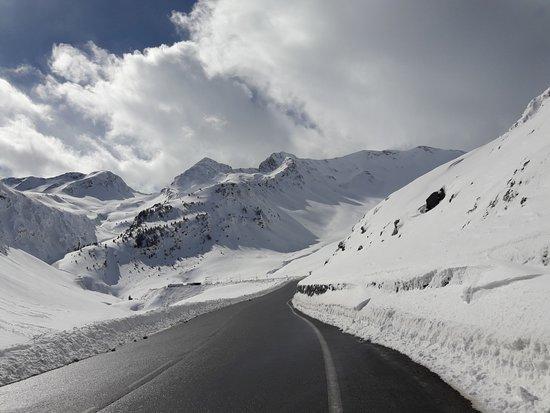 Saint Lary Soulan Ski Resort: Route d'accès en voiture