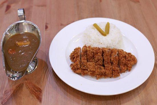 Yangon Region, Myanmar: Chicken Katsu Curry 5500ks