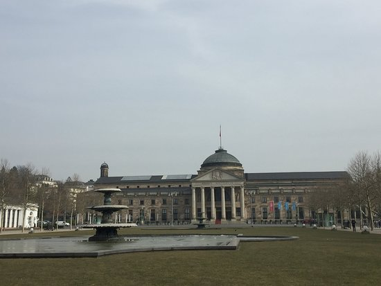 Bowling Green and Kurhaus, Wiesbaden, Germany