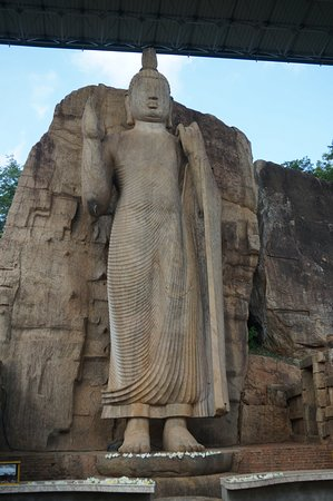 North Central Province, Σρι Λάνκα: Avukana Buddha Statue