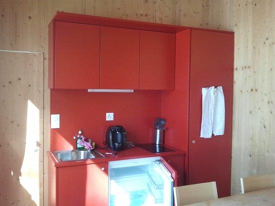 Samedan, Schweiz: glamping cabin