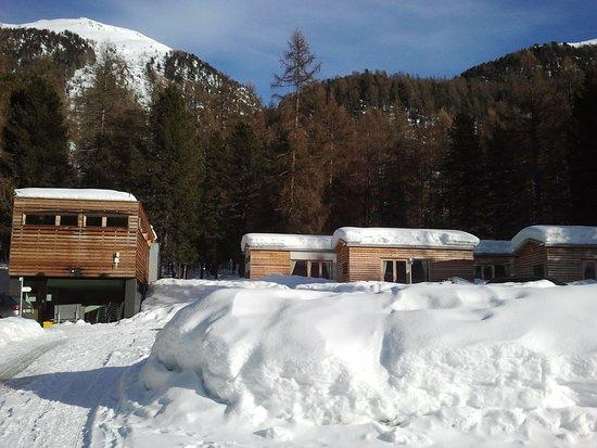 Samedan, Schweiz: glamping cabins