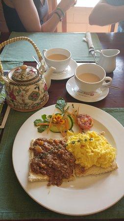 Komatipoort, แอฟริกาใต้: Breakfast included in the accommodation