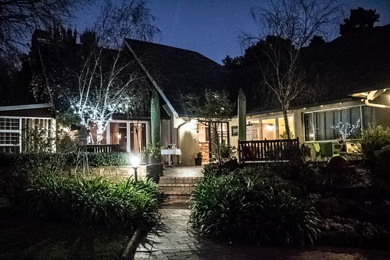 Glendower View Guest House : The Guest House at night