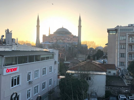 Celal Sultan Hotel: Rooftop view