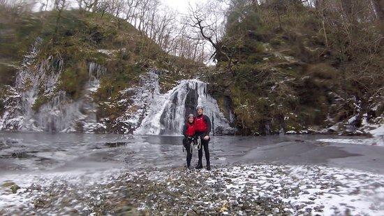 Harlech, UK: Canyoning with Adrenalin Addicts