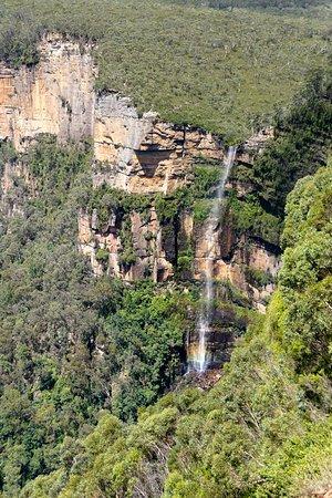 Blackheath, Australien: Govett's Leap aka Bridal Veil Falls