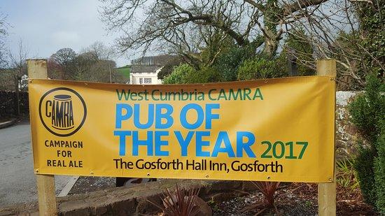 Gosforth, UK: Won CAMRA pub of the year 2017