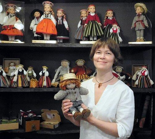 Riga Region, Latvia: Latvian National dolls - BAIBA, JANIS, IEVINA, JANCIS, SPIDOLA, LAIMDOTA