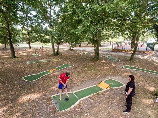 Villerville, França: Mini-golf