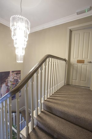 Wooler, UK: Deluxe Double hallway entrance
