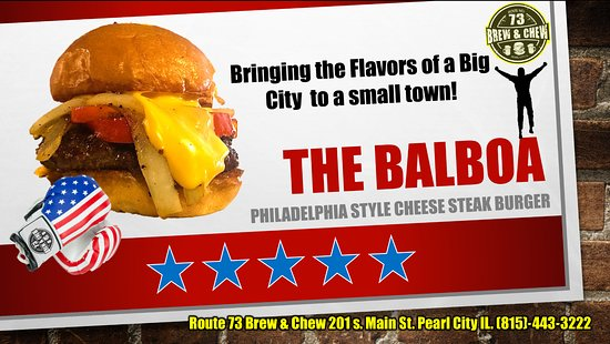 Pearl City, IL : The Balboa!