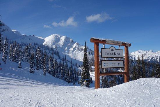 Fernie Alpine Resort : Sunbird day in Timber Bowl