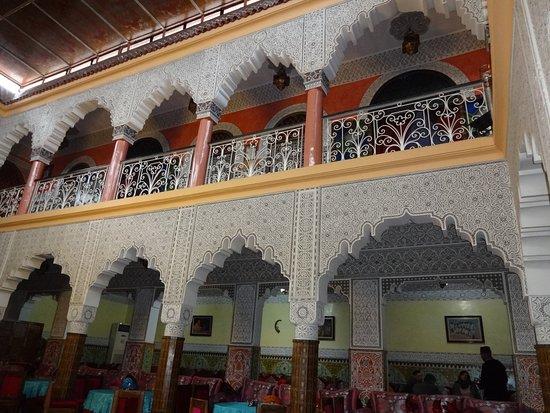 Restaurant El Bahia : Rundum marokkanische Dekokunst