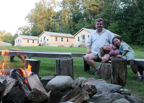 Washington, ME: Campfire with Dad!