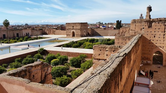 what to do in marrakech: El Badi Palace