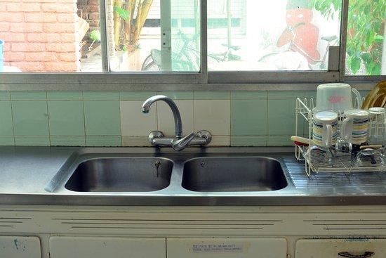 Sur Hostel: Nuestra cocina al servicio de los huéspedes.