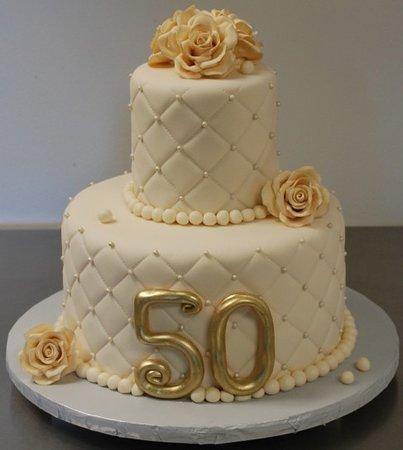 Torte Anniversario Di Matrimonio Pasta Di Zucchero.Torta 50 Anniversario Picture Of Pasticceria Caffetteria