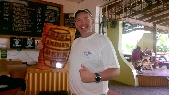 Lance aux Epines, Grenada: Special sign for my rum shack back home in England