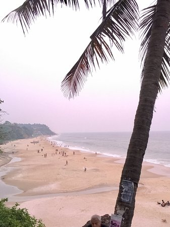 Papasnanam Beach: View from the top of the cliff
