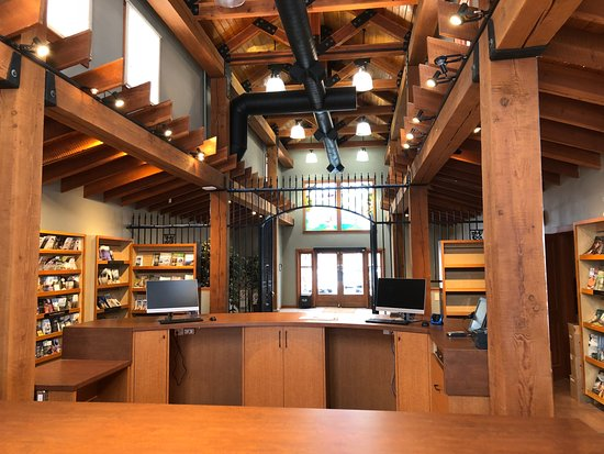 Penticton, Kanada: Inside our new Visitor Centre