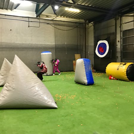 Dornbirn, ออสเตรีย: Paintball vom feinsten!