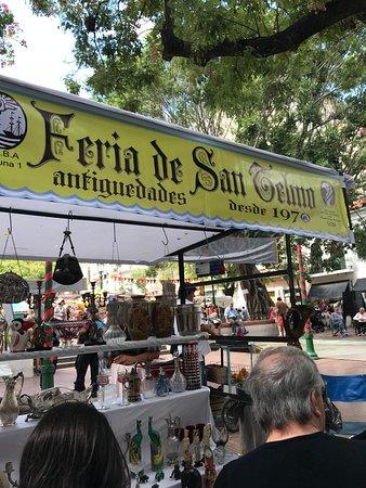 Feria De San Pedro Telmo Buenos Aires Lo Que Se Debe