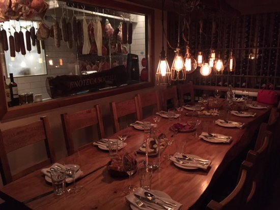 the wine cellar private dining room picture of enoteca sociale rh tripadvisor co za
