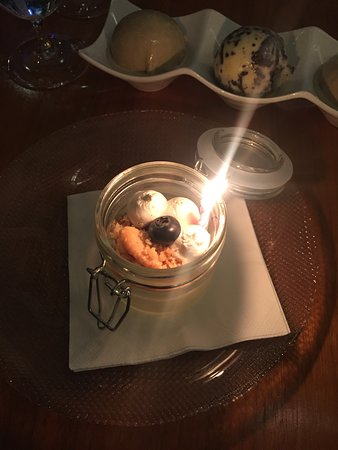 Oxon Hill, MD: Birthday dessert