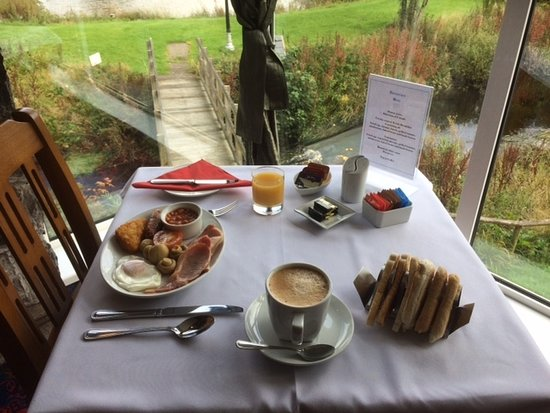 Rhydlydan, UK: Our cooked breakfast