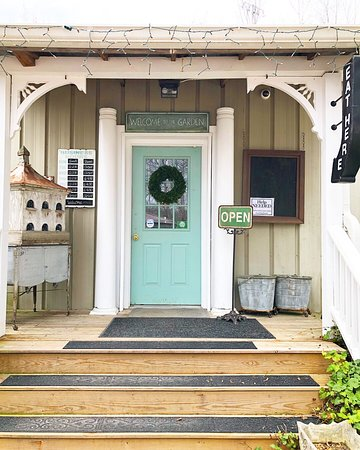 York, SC: Garden Cafe front entrance