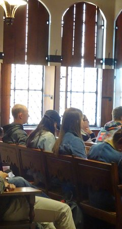 The Nationality Rooms: Class in Session in a Nationality Room