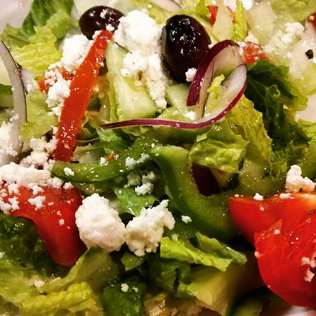 Zito Pizzeria and Grill: Greek salad