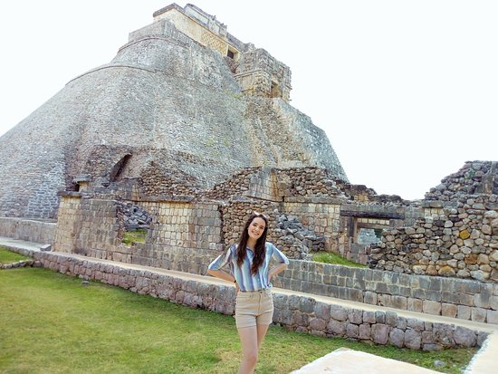 Muna, Meksika: Gran pirámide de Uxmal