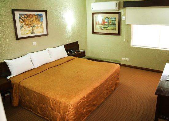 Northern Mexico, Mexico: Habitacion cama  King
