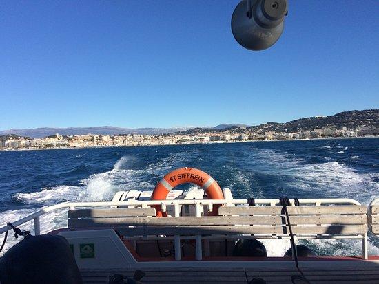 Iles de Lerins: Boat trip to the island