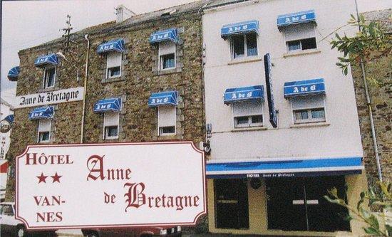 fa ade ouest picture of hotel anne de bretagne vannes tripadvisor. Black Bedroom Furniture Sets. Home Design Ideas