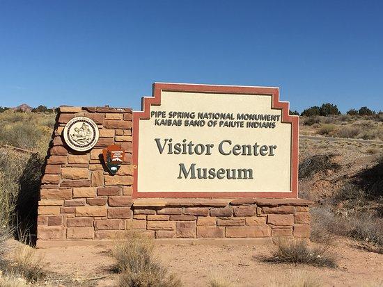 Fredonia, AZ: Pipe Spring NM Visitor Center