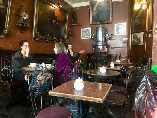 Caffe Reggio: Inside