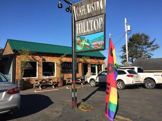 Hilltop Cafe Waldport Oregon Menu