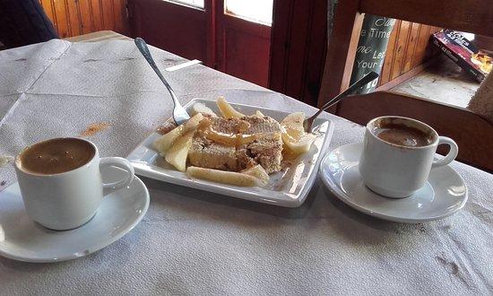 Doukades, اليونان: Τι πιο ωραίο μετά από το γεύμα!!