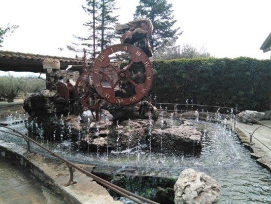 Bigues i Riells, Spain: Reloj de agua