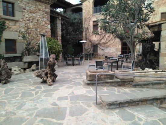 Bigues i Riells, Spain: Terraza